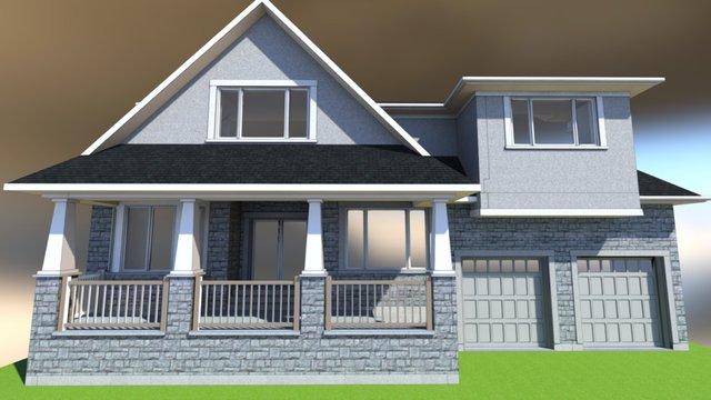 1309 New Home 3D Model
