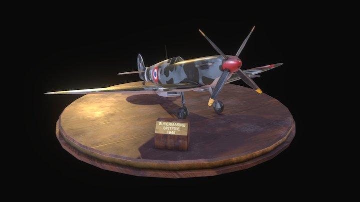 Spitfire Texturing Challenge 2017 3D Model