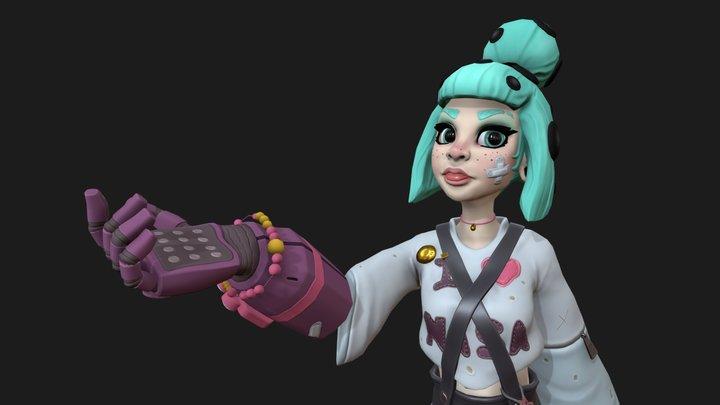 Maja's Cutie Final 3D Model