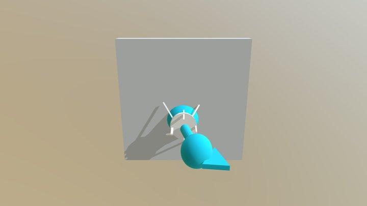 Escultura 3D arte 3D Model