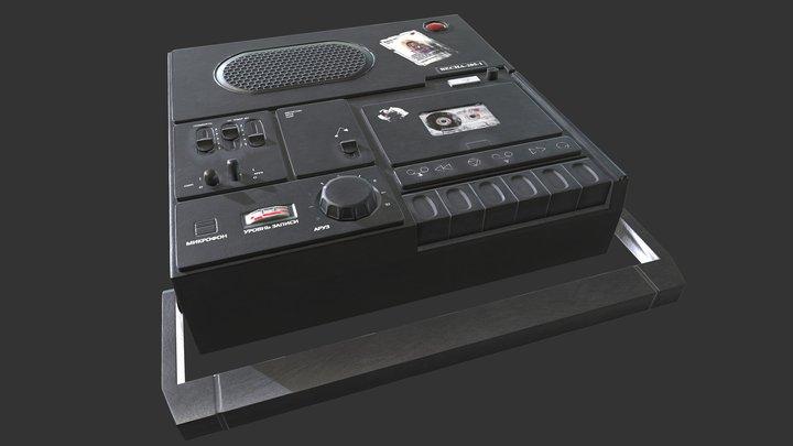 Tape Recorder (Магнитофон) 3D Model