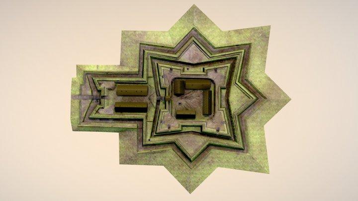 Přestavba Velké šance z let 1663-1664 3D Model