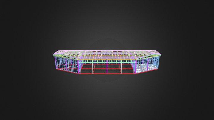 Al Fursan Car Shed 3D Model