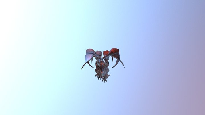 DeathWing(World of Warcraft) 3D Model