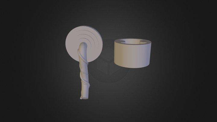 מחבר ברז יחד פרט 3D Model