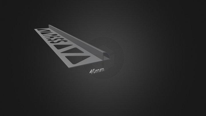Bord Arrondi Fermé 3D Model