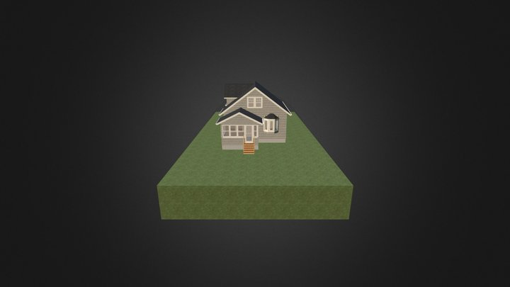1-1/2 story existing 3D Model