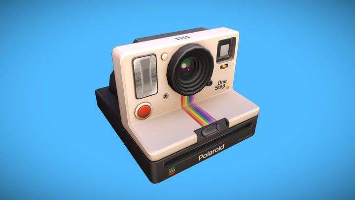 Polaroid OneStep 2 Camera 3D Model