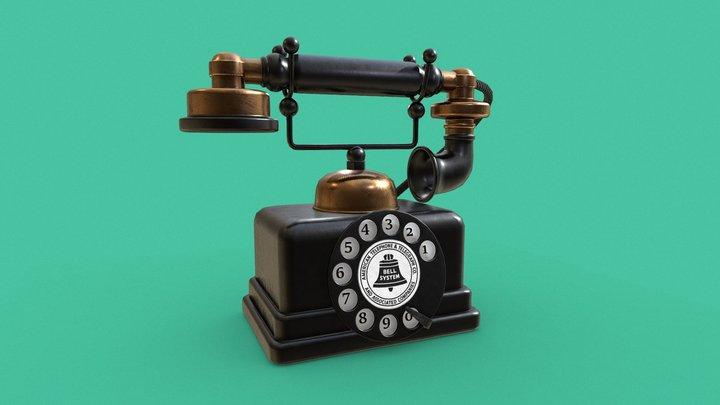 Bell System Phone 3D Model