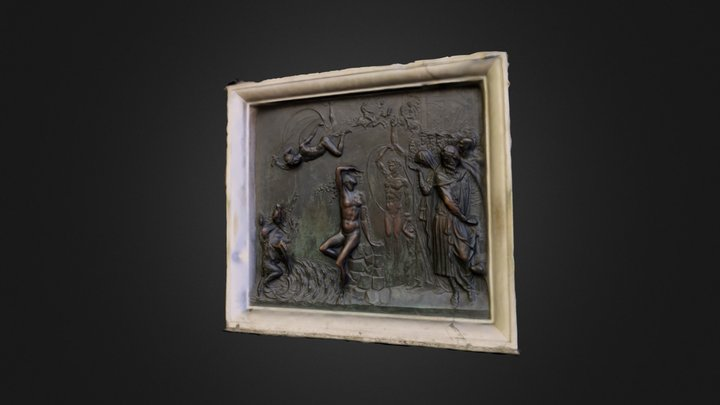 Bas relief from the Loggia, Florence 3D Model