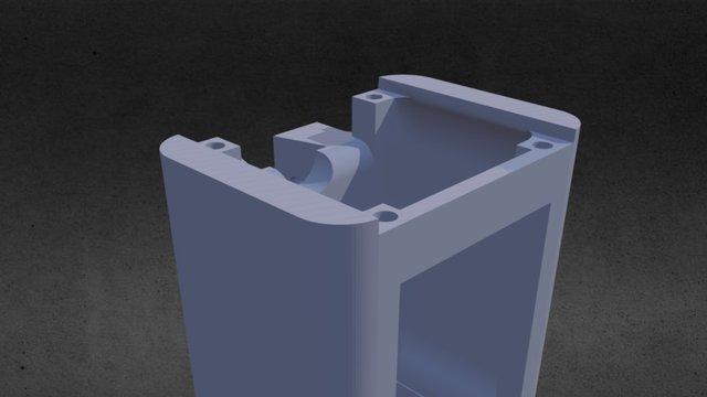 Laser holder V2 3D Model