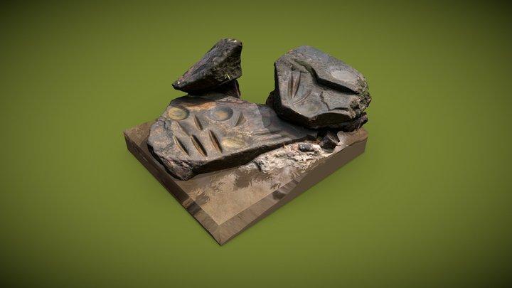 Réserve de la Trinité — Polissoir 3D Model