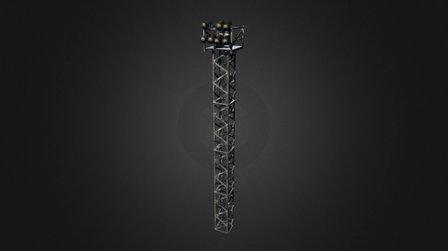 Theatre Lights 3D Model