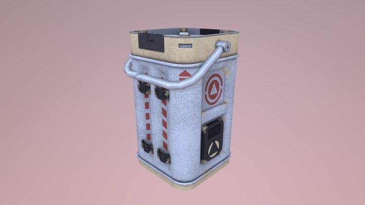 Hyperfuel Barrel 3D Model