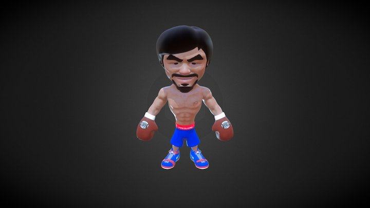 manny pacquiao 3D Model