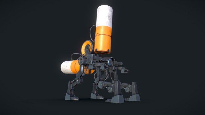 Robot - Simon Stålenhag FanArt 3D Model