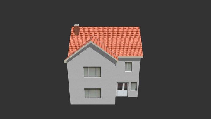 House 01 3D Model