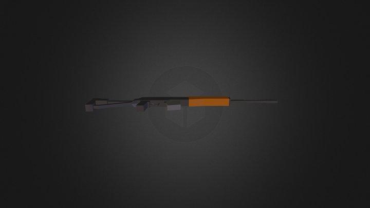 Dragunov SVD for Unturned 3D Model