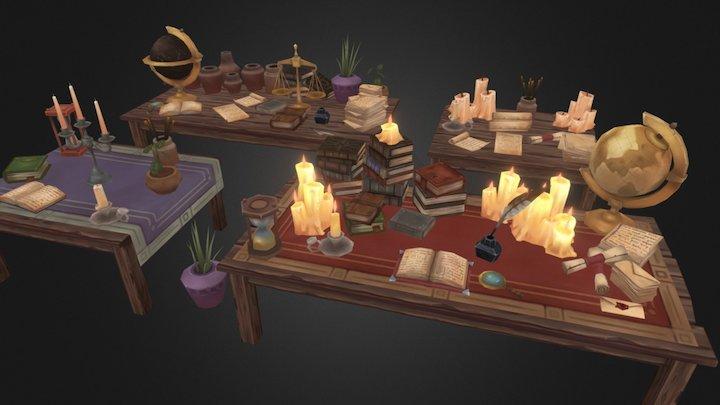 Fantasy Props 3D Model