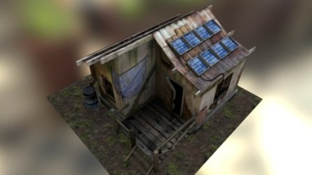 Makeshift Shelter 3D Model