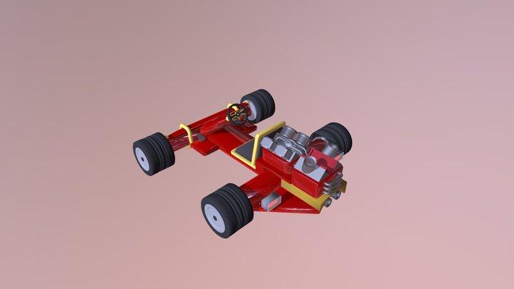 Crash Team racing Kart 3D Model