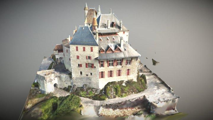 Chateau Menthon Saint Bernard 3d Annecy 3D Model