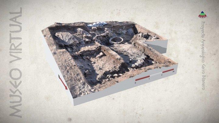 Modelo Final del Área II (Campaña 2016) 3D Model
