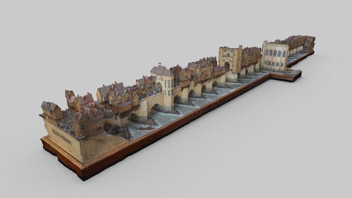 St Magnus the Martyr London Bridge Model 3D Model