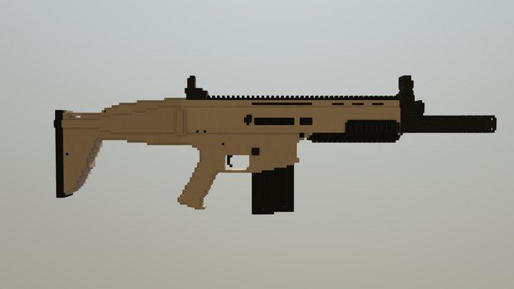 FN SCAR 17/H 3D Model