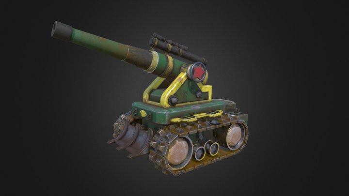 Artillery 3D Model