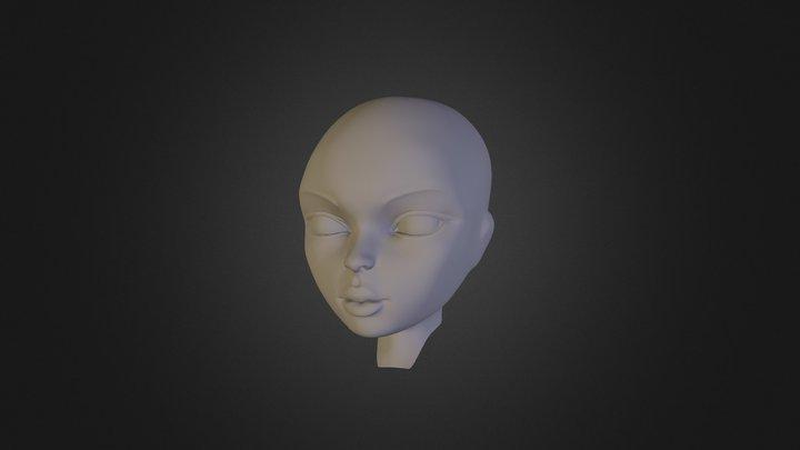 Merged_Heather_F9 3D Model