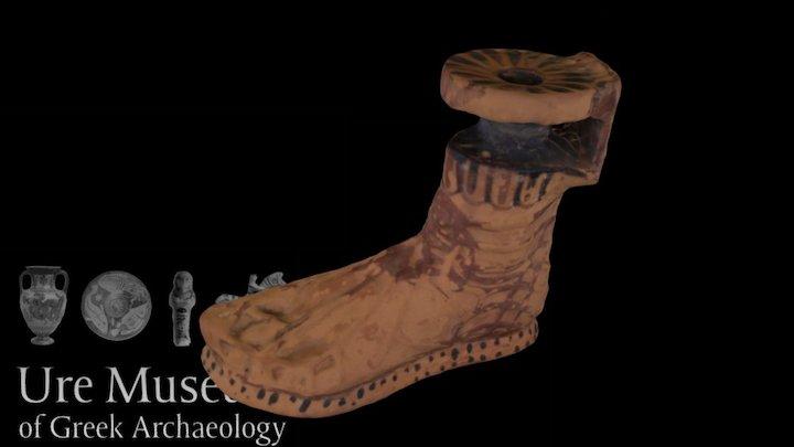 Foot Aryballos 3D Model