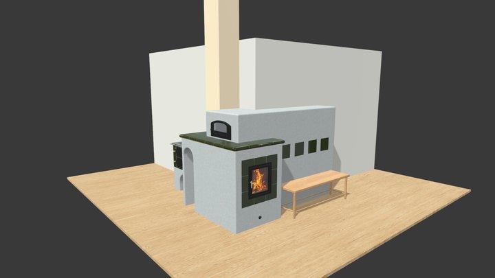 Kamna Tyrlíkovi ver.03 3D Model