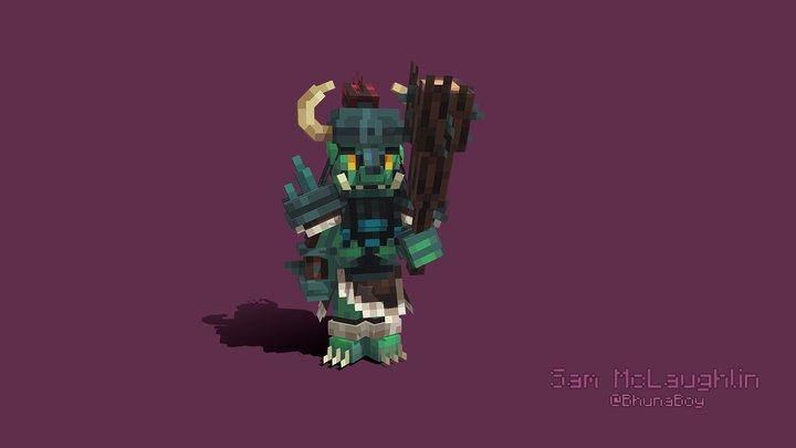 Ork Chieftain 3D Model