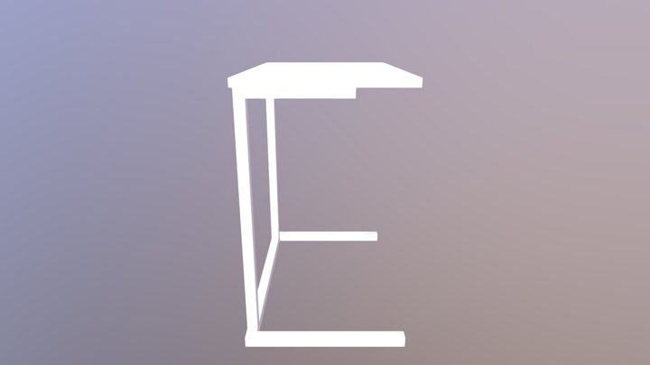 Nesting Sofa Tables 3D Model
