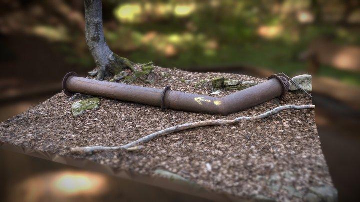 Rust Tube - Monte Molinatico Italy 3D Model