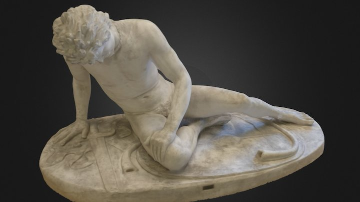 The Dying Gaul (delit) 3D Model