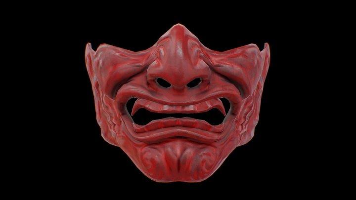 Menpō - Samurai Mask 3D Model