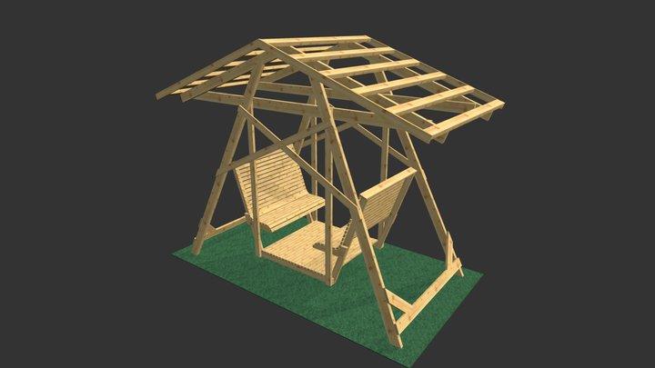 190084 Mit Dach 3D Model