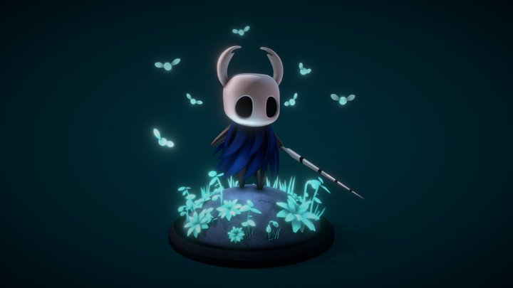Hollow Knight (FanArt) 3D Model