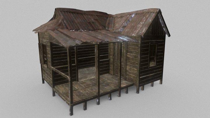 Rural Shack/Lodge 3D Model