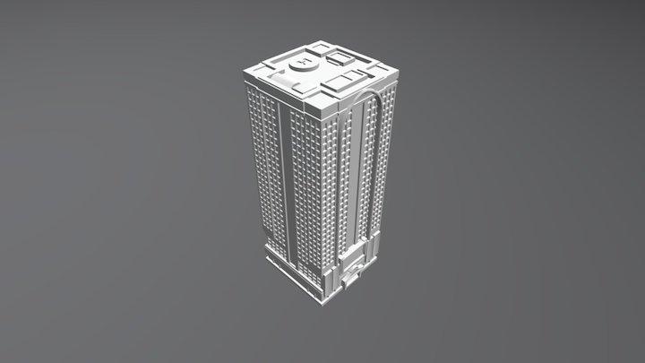 Skyscraper 2 3D Model