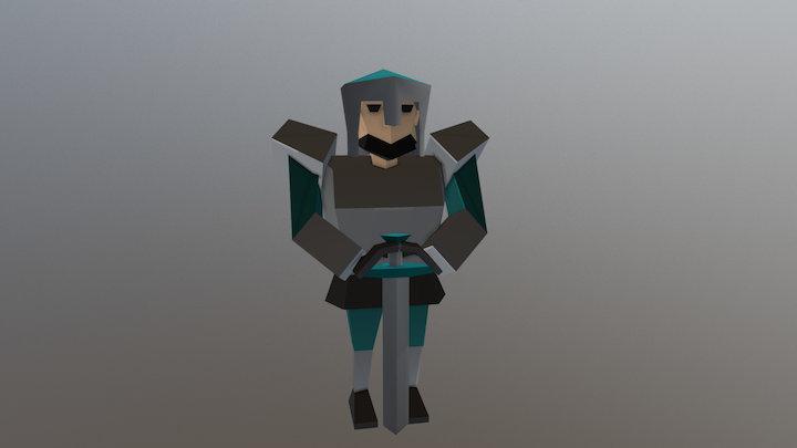 Paladin - #MedievalFantasyAssets 3D Model