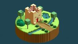 Medieval CATsle 3D Model