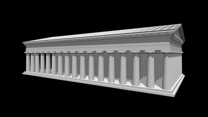 METAPONTO - Tempio B I 3D Model
