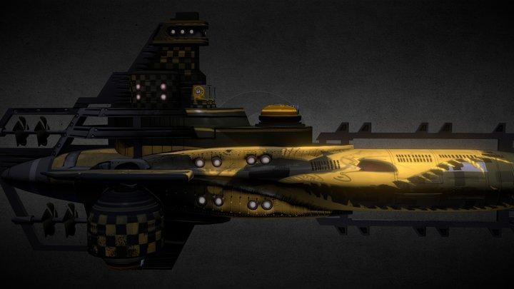 """Lancer """"Noble Folly"""" 3D Model"""