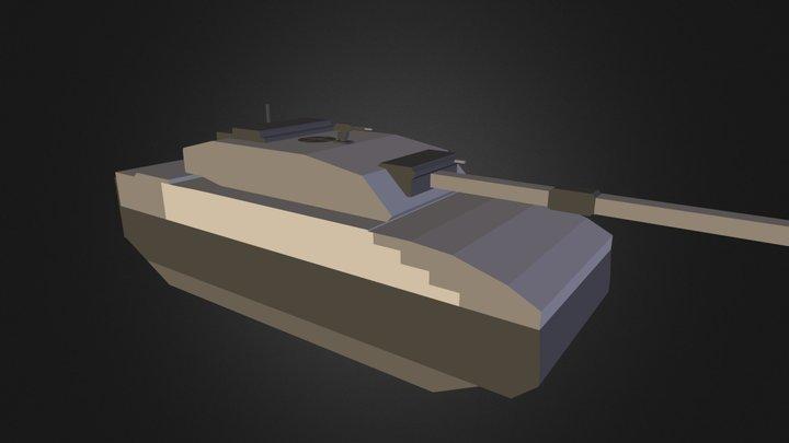 Paladin III tank 3D Model