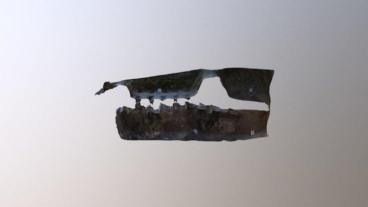 Fornace via Trebbiola a Piacenza - Sez. D-B 3D Model