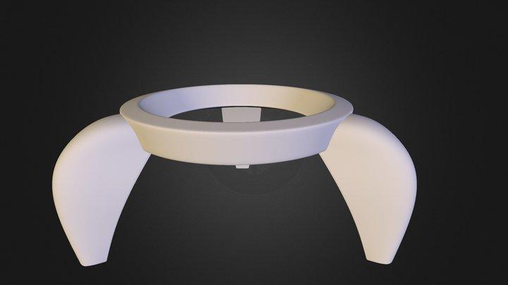 Egg Rocket Porcelain 3D Model