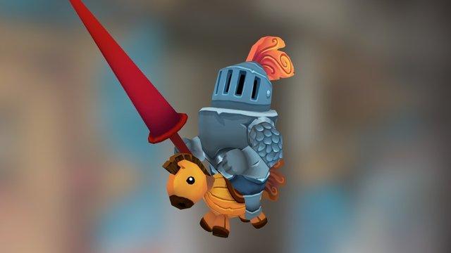 Knight 3D Model